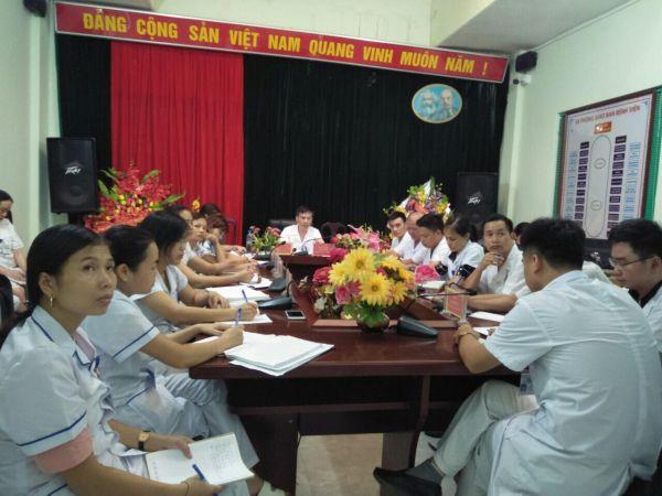 BVĐK Quang Bình tổ chức bình bệnh án định kỳ - giải pháp không bao giờ cũ giúp nâng cao chất lượng khám chữa bệnh